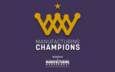 We're Proud to be Judging at the Manufacturing Awards
